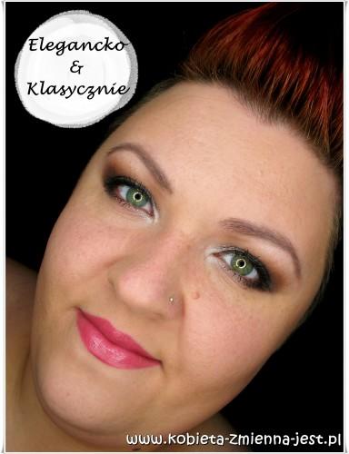 makijaż brązy beże naturalny dzienny elegancki klasyczny