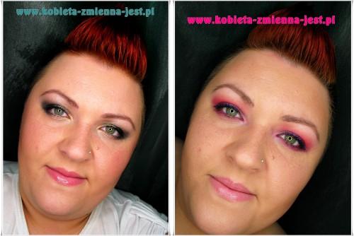 makijaż technika kolory pomysł na makijaż