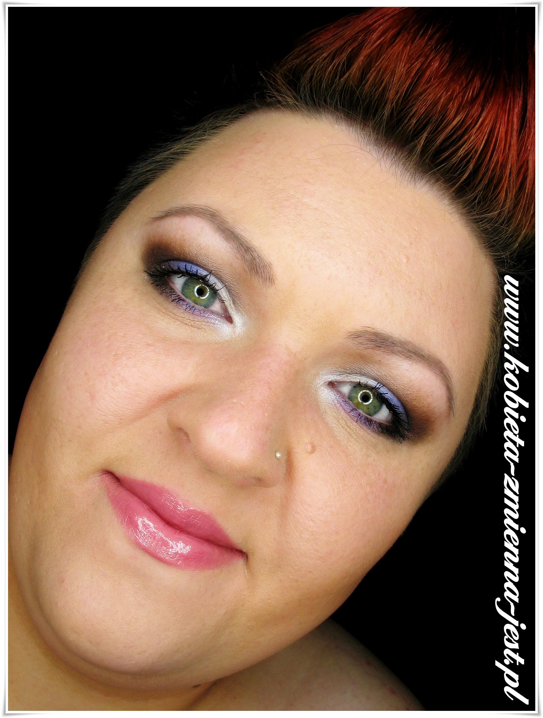 Makijaż Dzienne Brązy Z Nutą Koloru Kobieta Zmienną Jest
