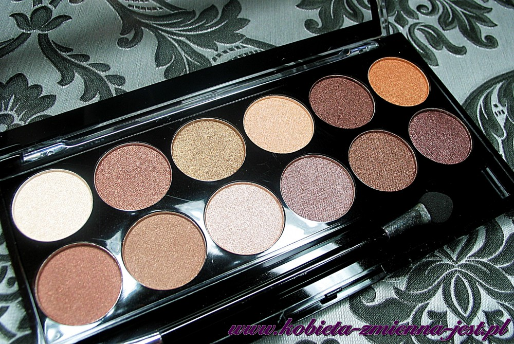 Makeup Academy  Heaven and earth eyeshadow palette blog swatche real foto 1