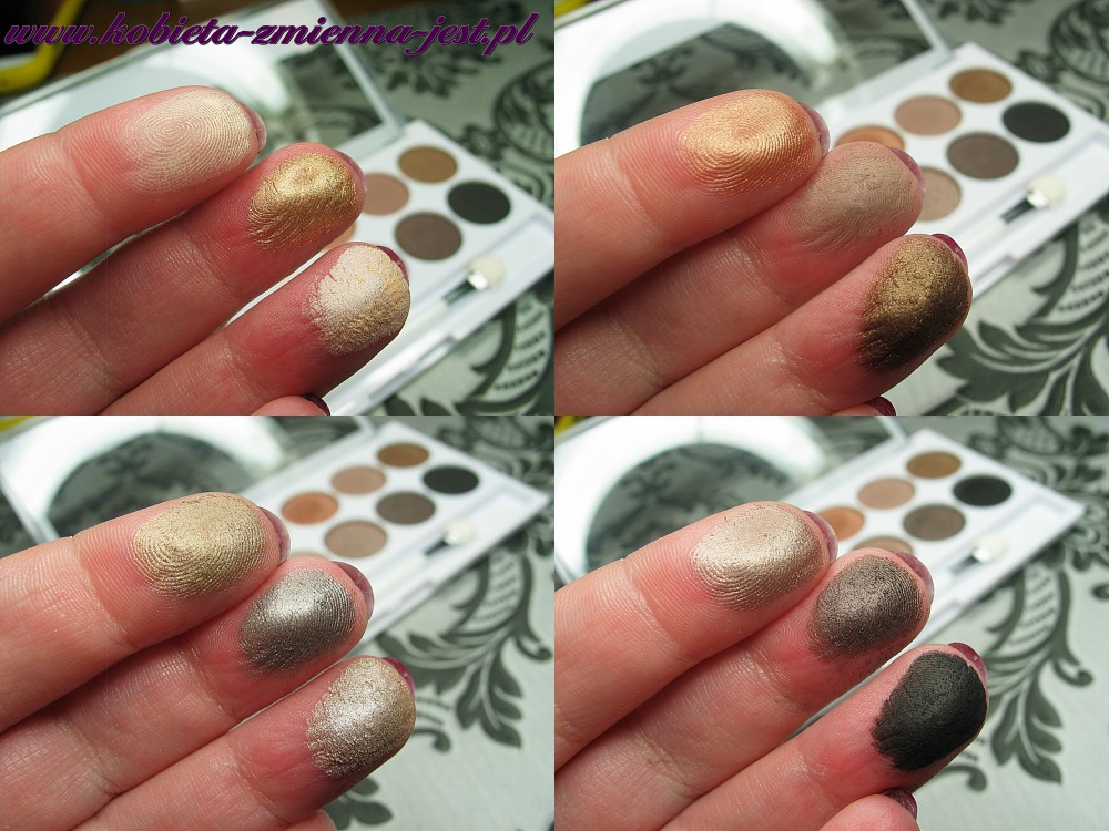 Makeup Academy Undress me too eyeshadow palette blog swatche real foto