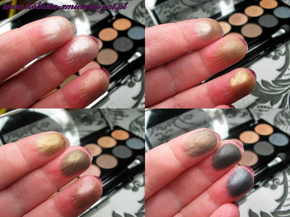 Makeup Academy Undressed eyeshadow palette blog swatche real foto