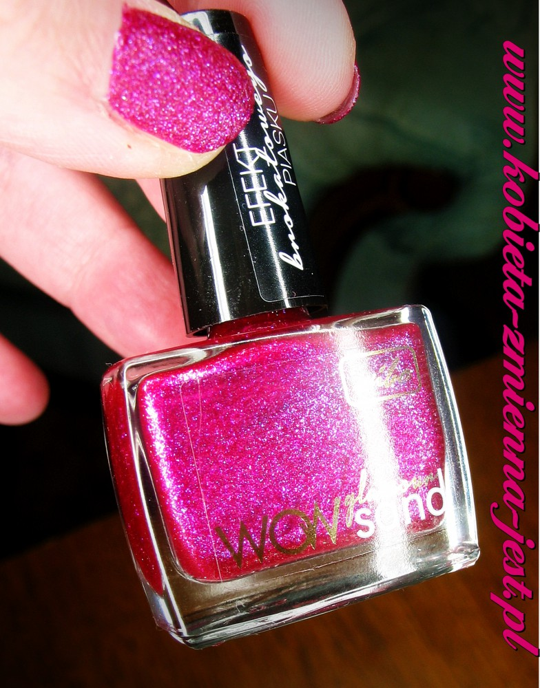 Wibo WOW Glamour Sand nr 2 blog swatche