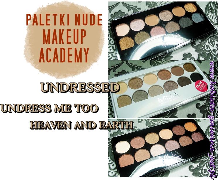 wszystkie palety Makeup Academy eyeshadow palette blog swatche real foto