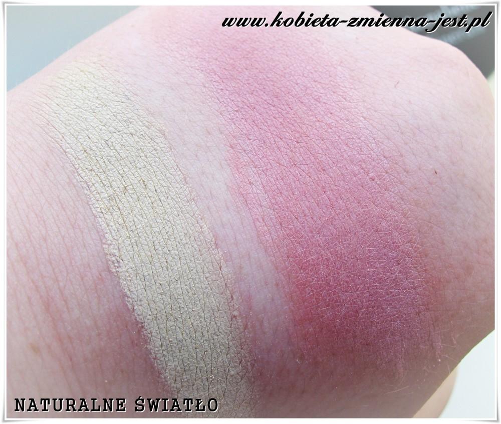 annabelle minerals korektor mineralny medium róż mineralny rose blog swatche naturalne światło real foto