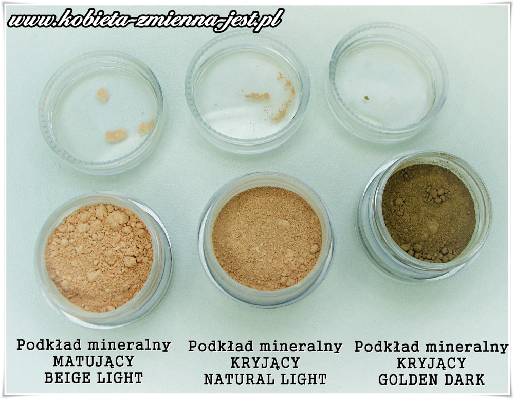 annabelle minerals swatche podkład kryjący matujący blog