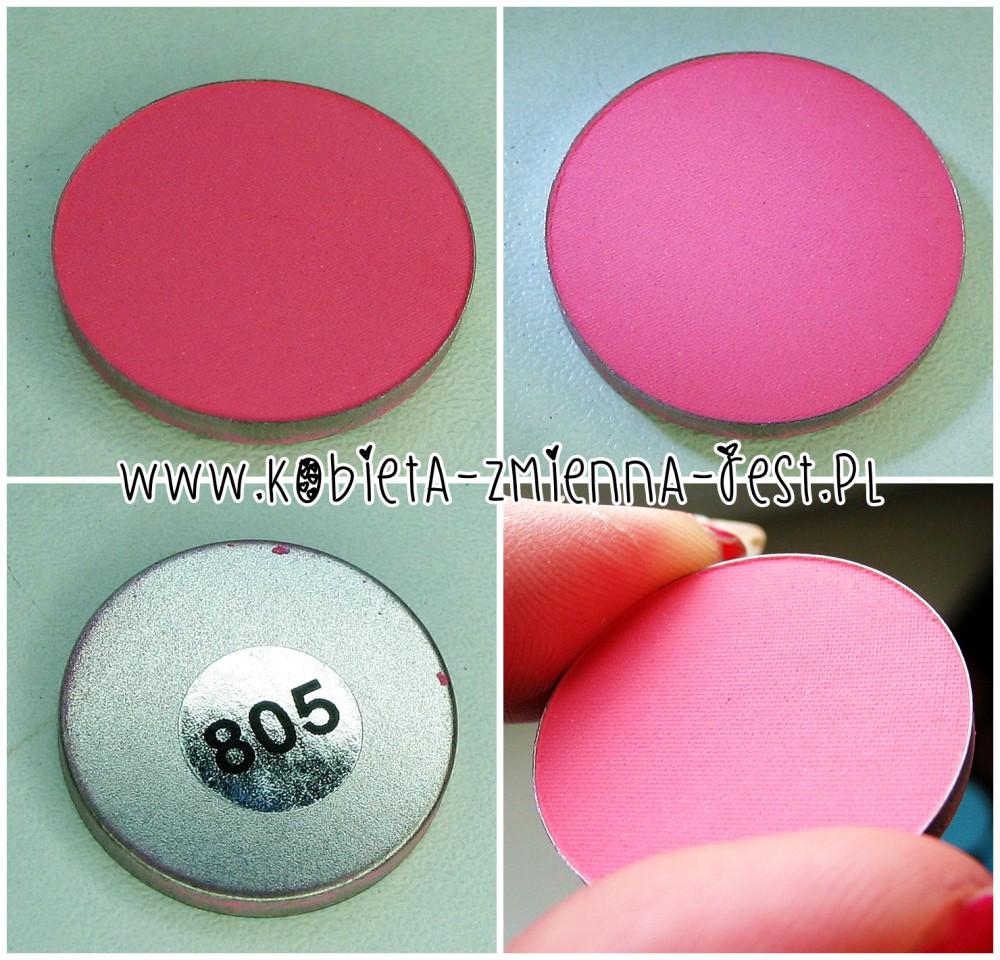 Hean 805 cienie do powiek High Definition wkłady do paletki swatche blog