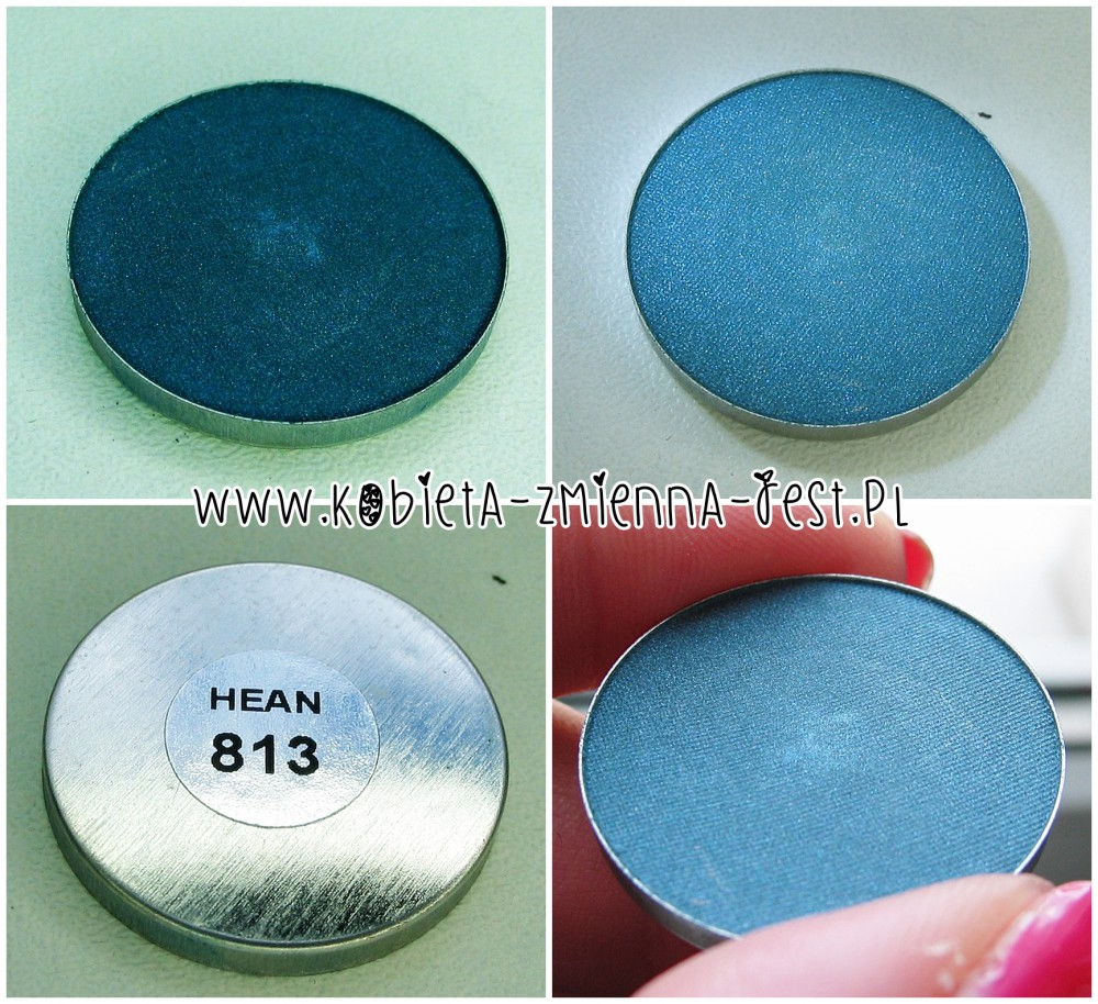 Hean 813 cienie do powiek High Definition wkłady do paletki swatche blog