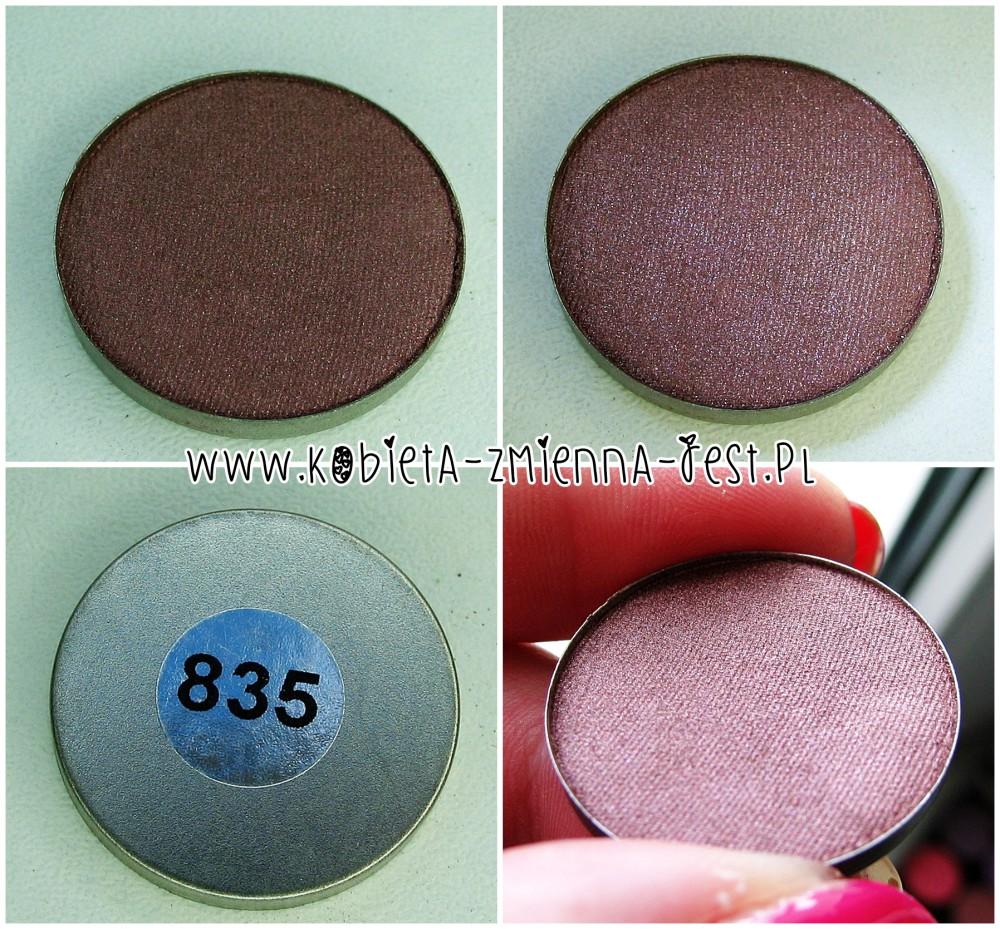 Hean 835 cienie do powiek High Definition wkłady do paletki swatche blog
