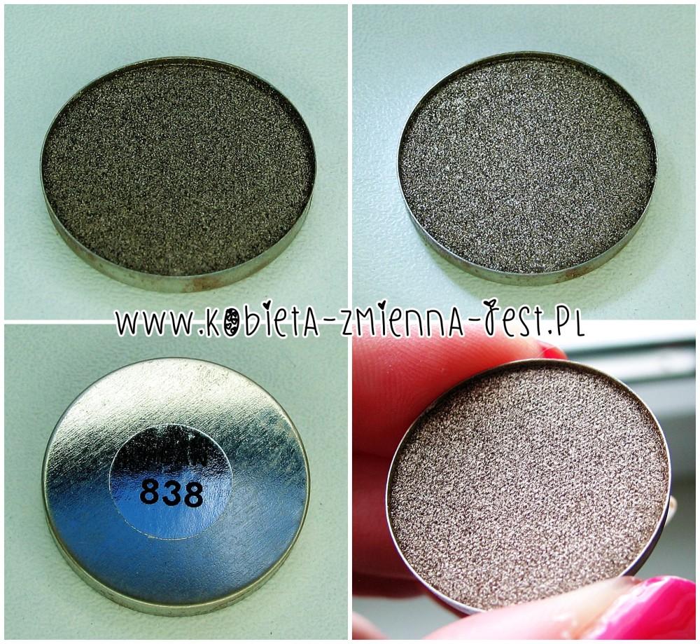 Hean 838 cienie do powiek High Definition wkłady do paletki swatche blog