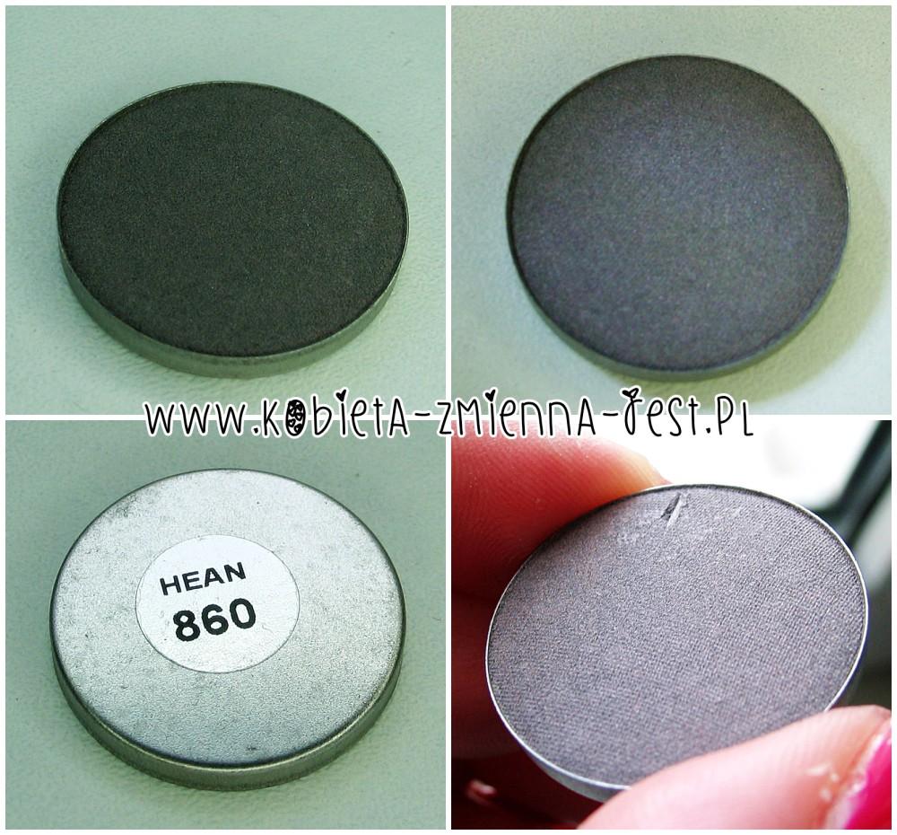 Hean 860 cienie do powiek High Definition wkłady do paletki swatche blog
