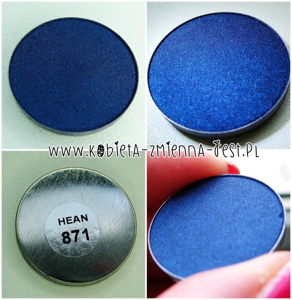 Hean 871 cienie do powiek High Definition wkłady do paletki swatche blog