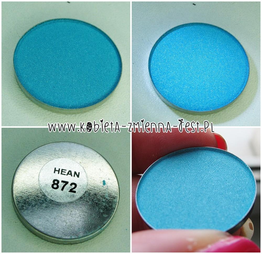 Hean 872 cienie do powiek High Definition wkłady do paletki swatche blog