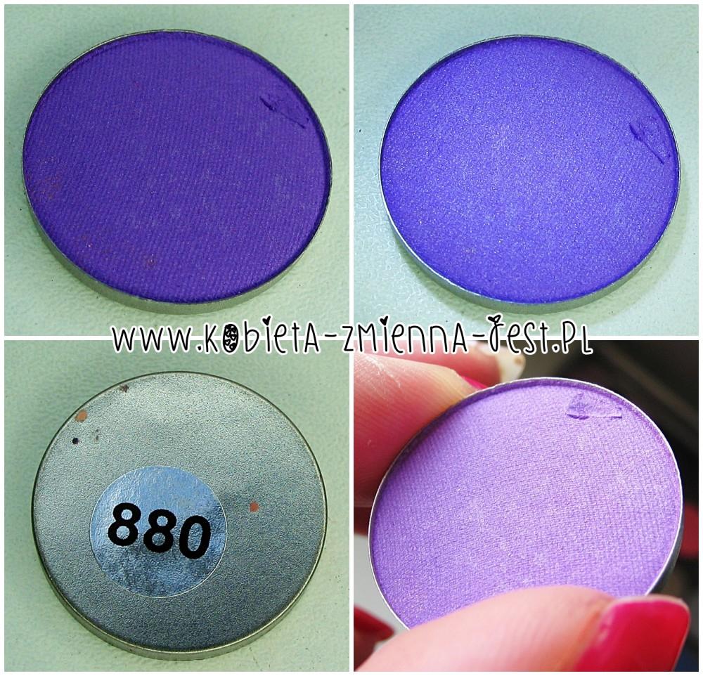Hean 880 cienie do powiek High Definition wkłady do paletki swatche blog