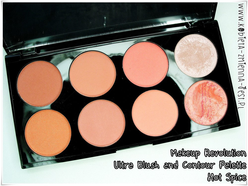 Makeup Revolution Ultra Blush and Contour Palette Hot Spice