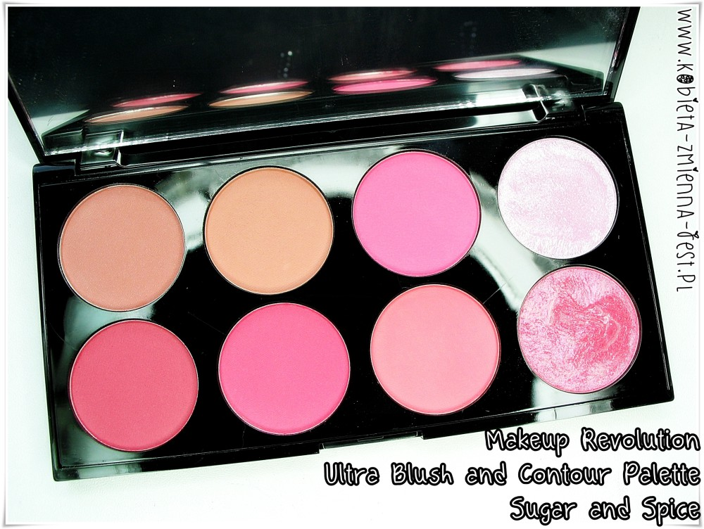 Makeup Revolution Ultra Blush and Contour Palette Sugar and Spice