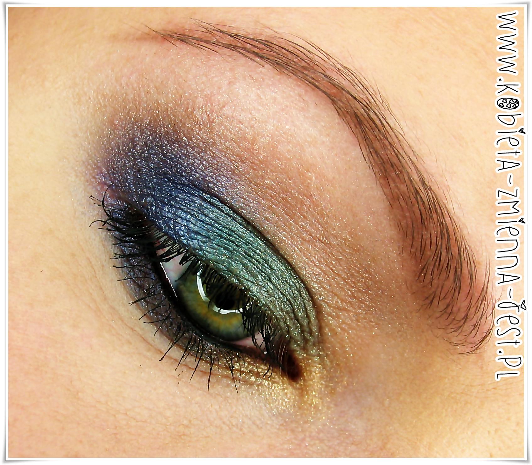 Makijaż Kolorowe Smokey Eyes Z Paletką Sleek Arabian Nights