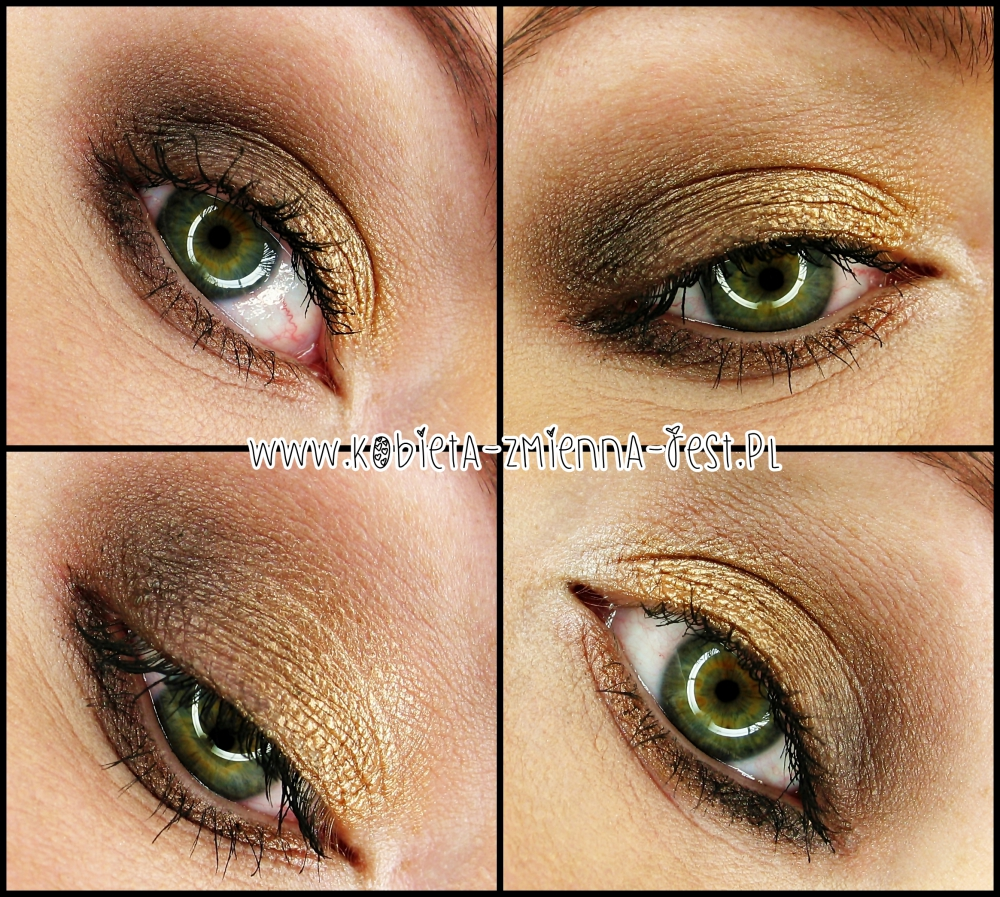 sof glam look for fall blog beautyblog makijaż make up MUA Undress me too palette eyes