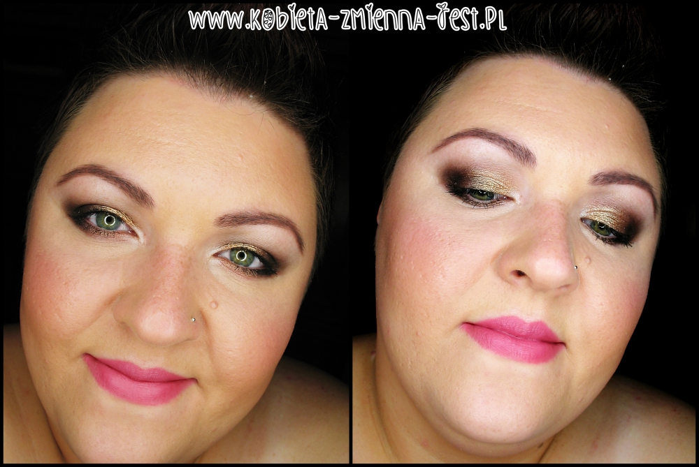 sof glam look for fall blog beautyblog makijaż make up MUA Undress me too palette face
