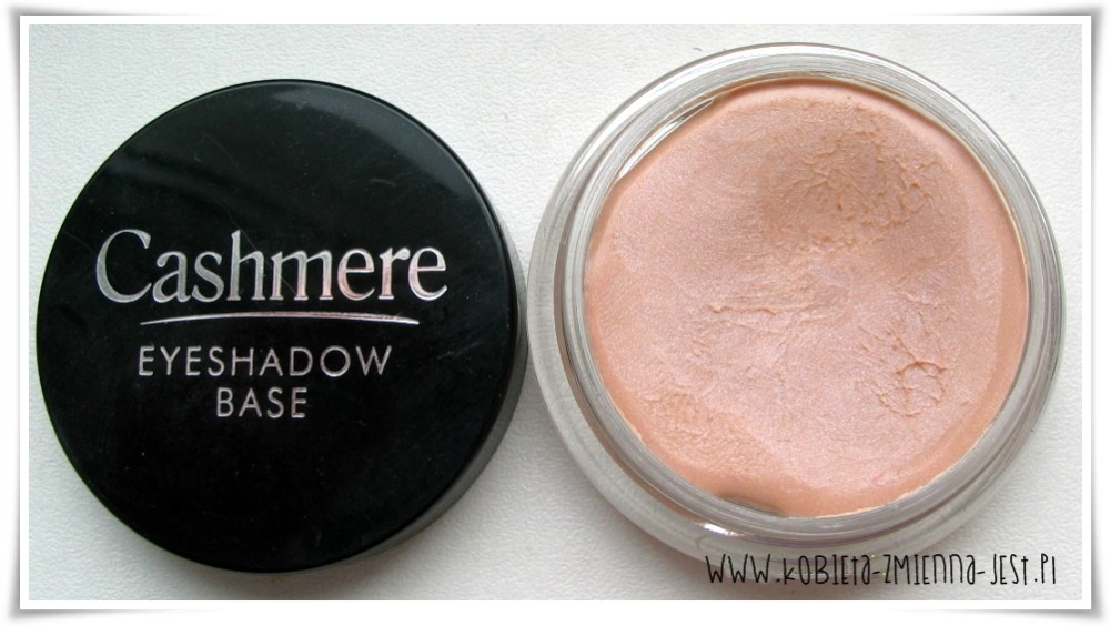 najlepsza baza pod cienie 2014 roku KWC blog Dax Cosmetics Cashmere Eyeshadow Base