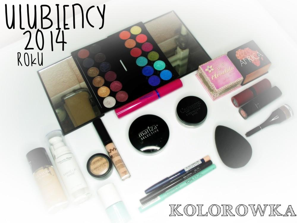 ulubieńcy kosmetyczni 2014 roku kolorówka blog real foto KWC kosmetyki kolorowe najlepsze kosmetyki