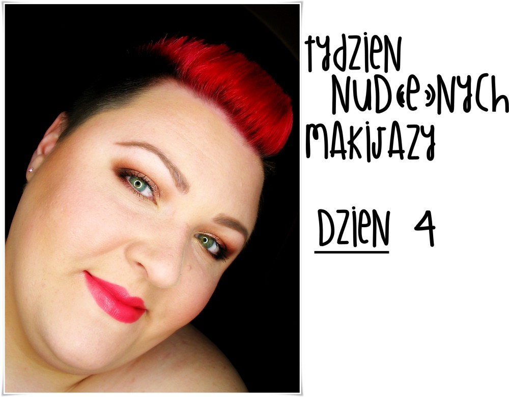 Makeup Revolution Naked Chocolate makeup makijaż tytułowy makeup nude worm brown makeupblogger dzienny makijaż ciepłe brązy
