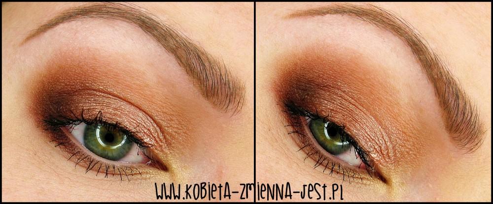 Makeup Revolution Naked Chocolate makeup makijaż tytułowy makeup nude worm brown makeupblogger dzienny makijaż ciepłe brązy prosty makijaż dzienny jak wykonać