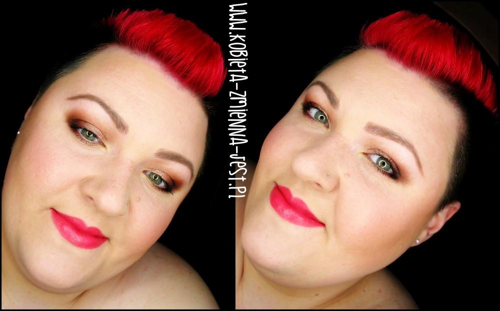Makeup Revolution Naked Chocolate makeup makijaż tytułowy makeup nude worm brown makeupblogger dzienny makijaż ciepłe brązy prosty makijaż dzienny jak wykonać face