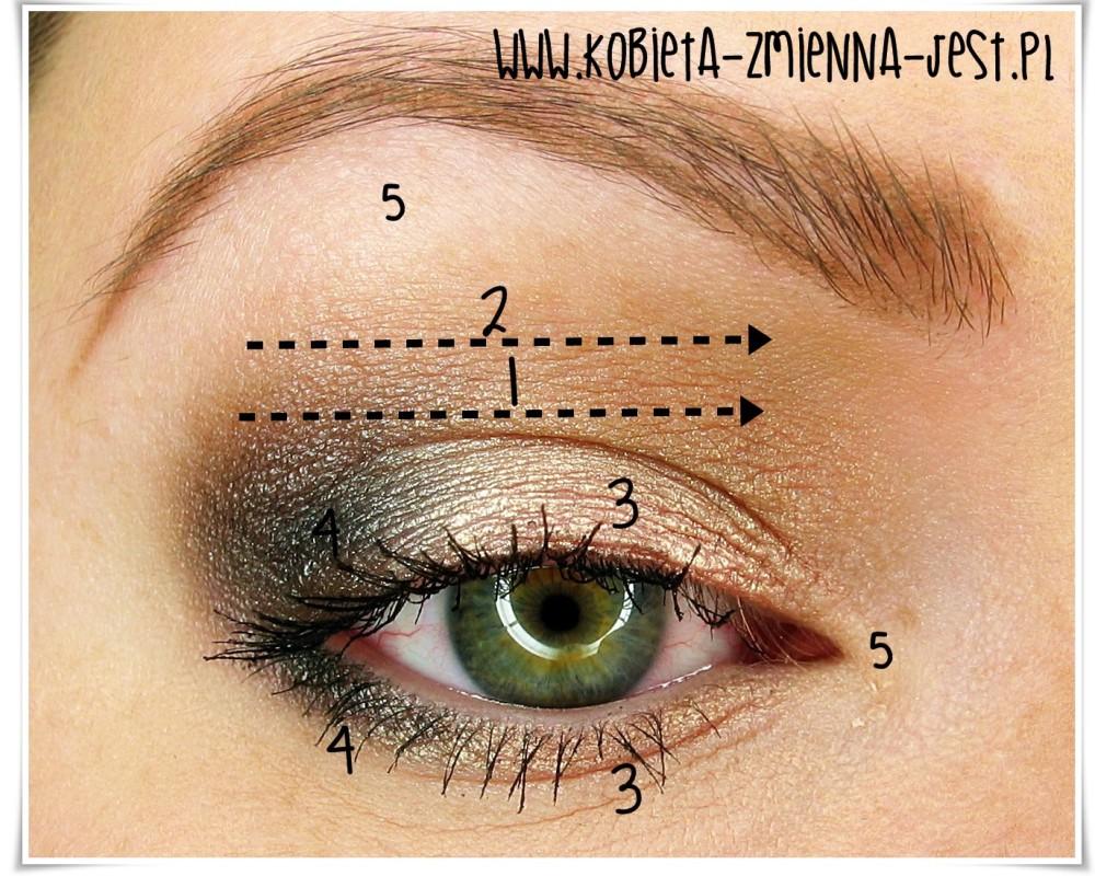 makijaż makeup sleek oh so special jak wykonać makijaż dzienny kobiecy lekki róż szarość zielona tęczówka eye makeupblogger blog