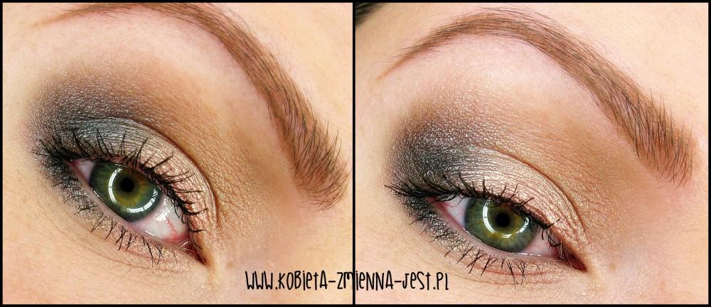 makijaż makeup sleek oh so special jak wykonać makijaż dzienny kobiecy lekki róż szarość zielona tęczówka eyes makeupblogger blog