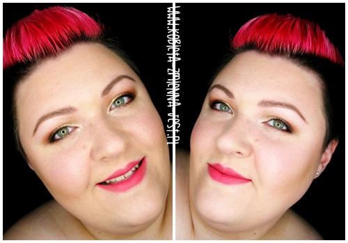 makijaż makeup Makeup Revolution Naked Chocolate makeupblogger blog step by step makeup worm browns copper face