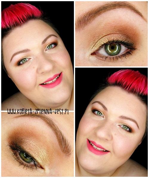 makijaż makeup Makeup Revolution Naked Chocolate makeupblogger blog step by step makeup worm browns copper