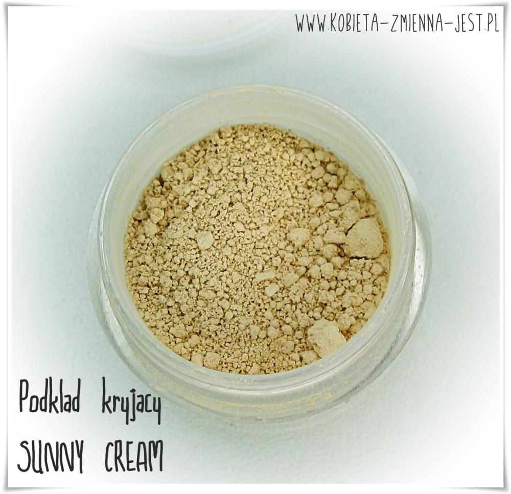 annabelle minerals podkład kryjący sunny cream