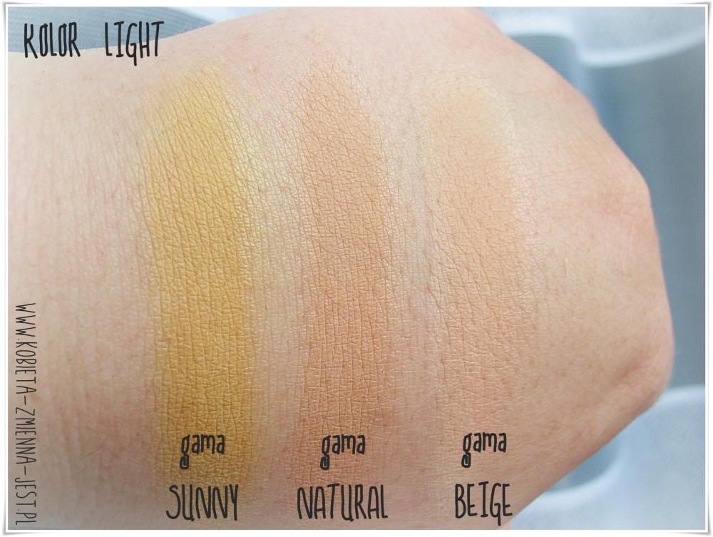 annabelle minerals podkład kryjący sunny light podkład kryjący natural light podkład matujący beige light