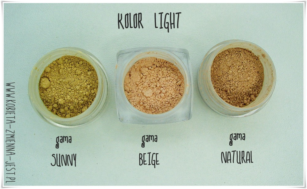 annabelle minerals porównanie kolorów sunny natural beige swatche jaki kolor wybrać annabelle minerals