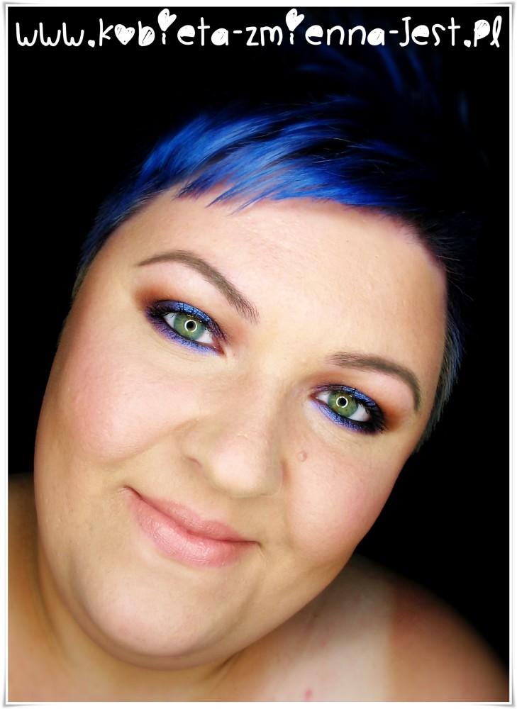 makijaż makeup burgund fiolet mac sketch kiko water eyeshadow 225 makeupblogger blog real foto eyes