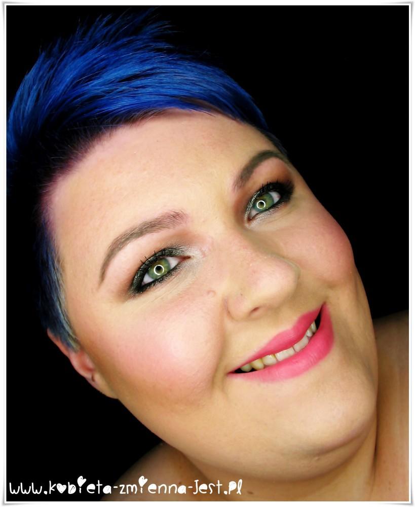 makijaż makeup smokey eyes makeup revolution death by chocolate cool browns makeupblogger blog face 2