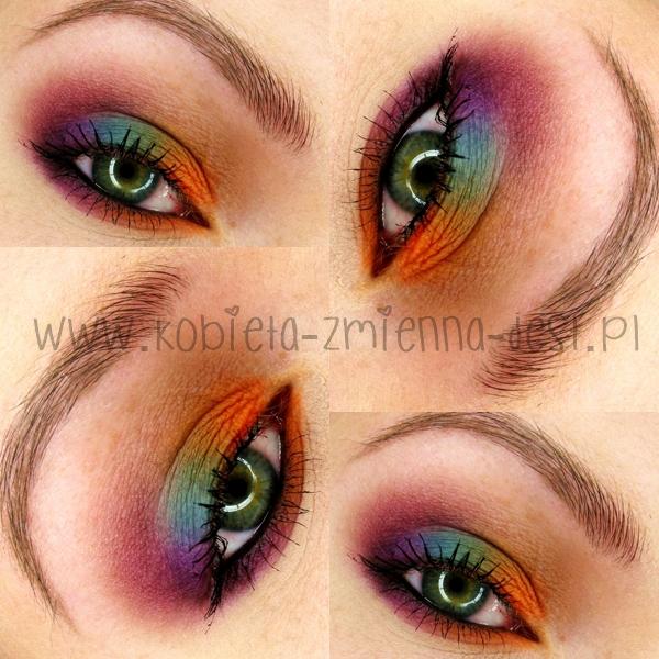 eyes makeup makijaż blog sleek ultra mattes v2 darks sleek ultra mattes v1 brights mattes eyeshadow autumn makeup