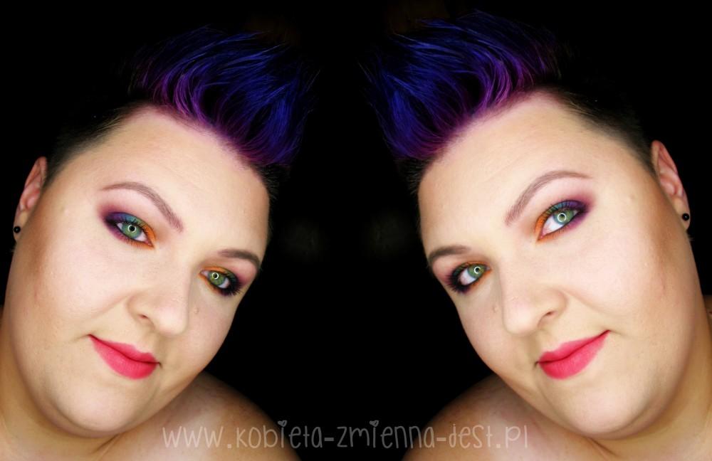 face makeup makijaż blog sleek ultra mattes v2 darks sleek ultra mattes v1 brights mattes eyeshadow autumn makeup