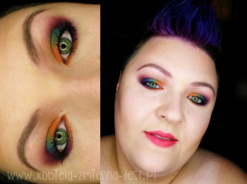 tytuł makeup makijaż blog sleek ultra mattes v2 darks sleek ultra mattes v1 brights mattes eyeshadow autumn makeup