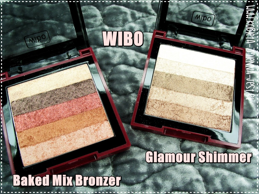 wibo glamour shimmer wibo baked mix bronzer