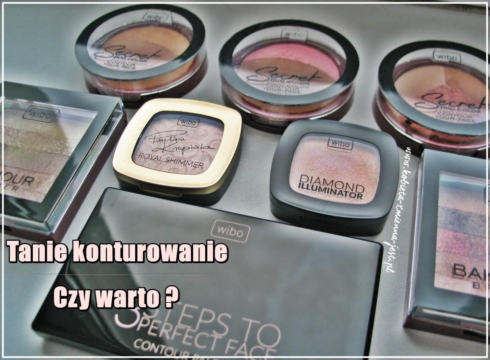 wibo produkty do konturowania blog tanie konturowanie czy warto nowe kosmetyki do konturowania dostępne w drogerii