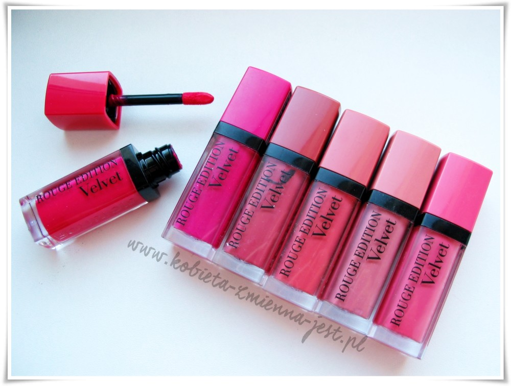 Bourjois Rouge Edition Velvet 05 06 07 09 10 11
