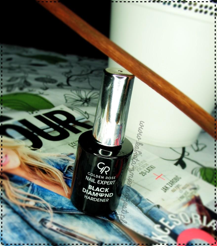 Golden Rose Black Diamond Hardener blog najlepszy kosmetyk