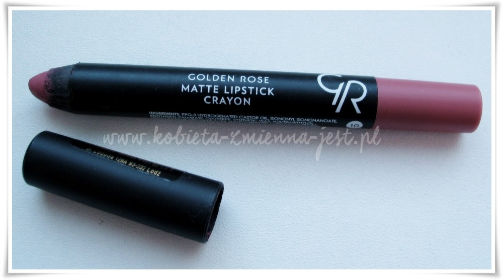 Golden Rose matte lipstick crayon 10