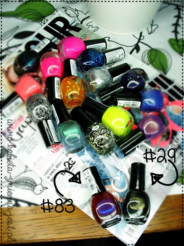 Life Nail Lacquer Trendy Colour 83 29 najlepszy lakier drogeryjny