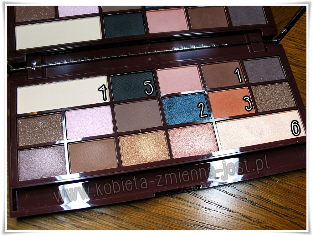 Makeup Revolution I heart makeup Salted Caramel Palette