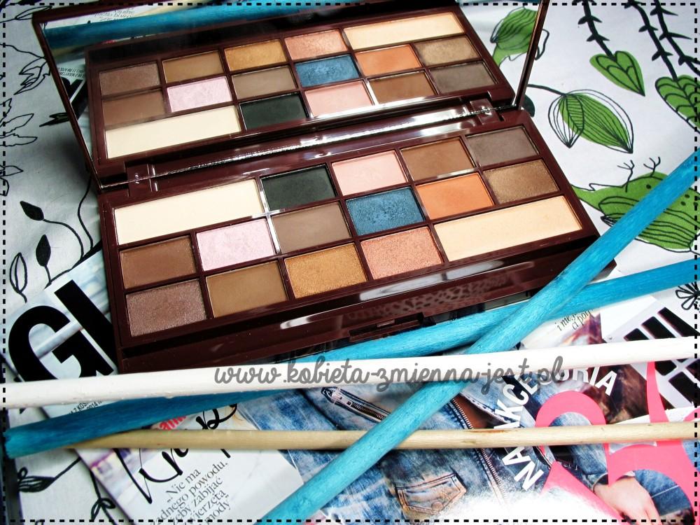 Makeup Revolution Salted Caramel palette blog najlepsza paleta