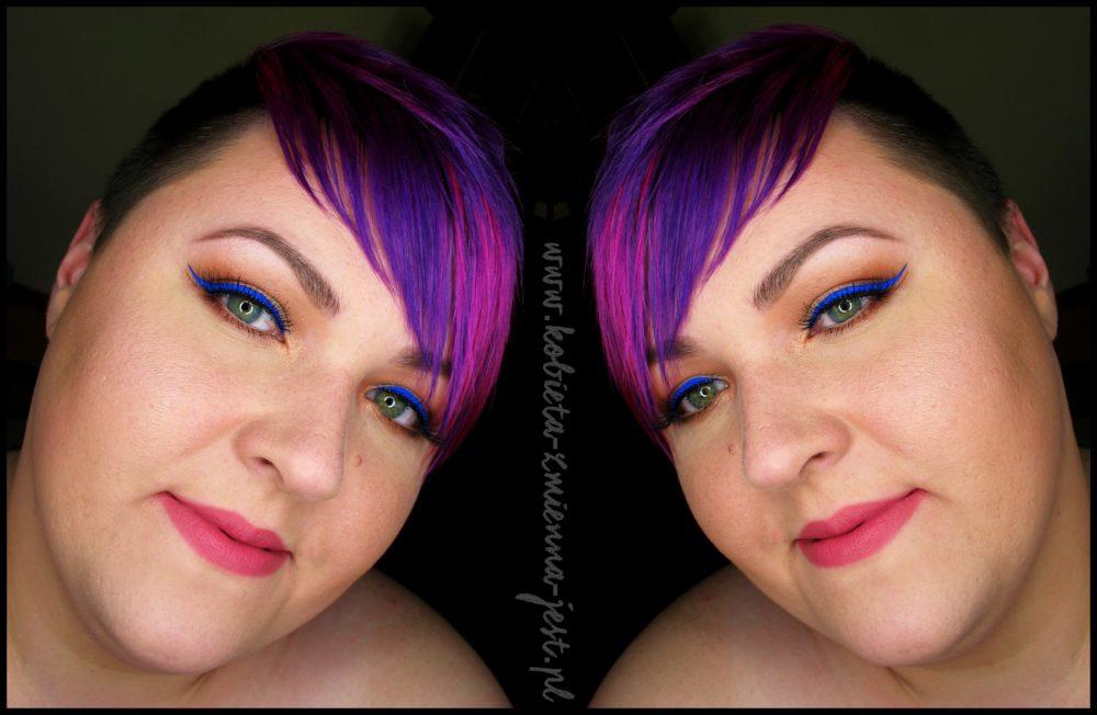 Cat's Eye Liner Tusz do kresek Golden Rose kobaltowy eyeliner hit trendy kreska blog face