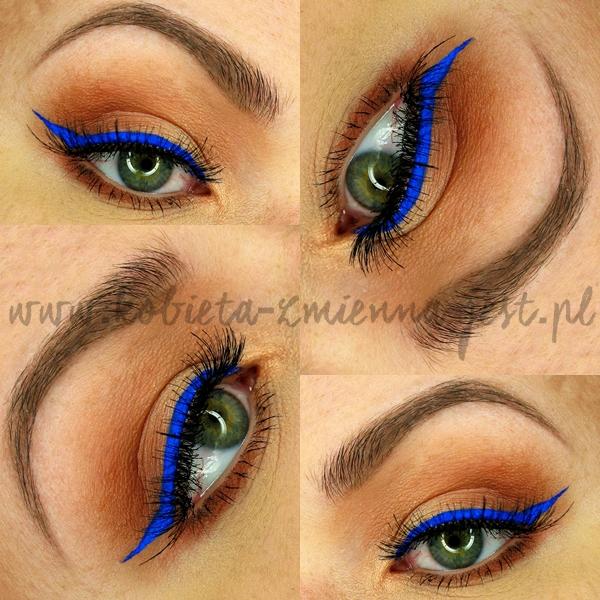 Cat's Eye Liner Tusz do kresek Golden Rose kobaltowy eyeliner hit trendy kreska blog